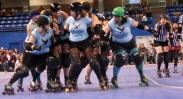 Controlled mayhem: Roller Derby rules