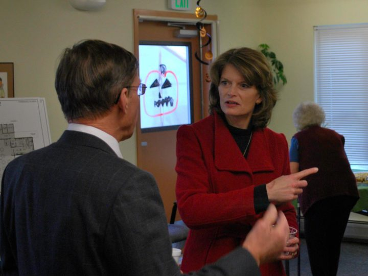 Senator Murkowski's views are 'evolving'