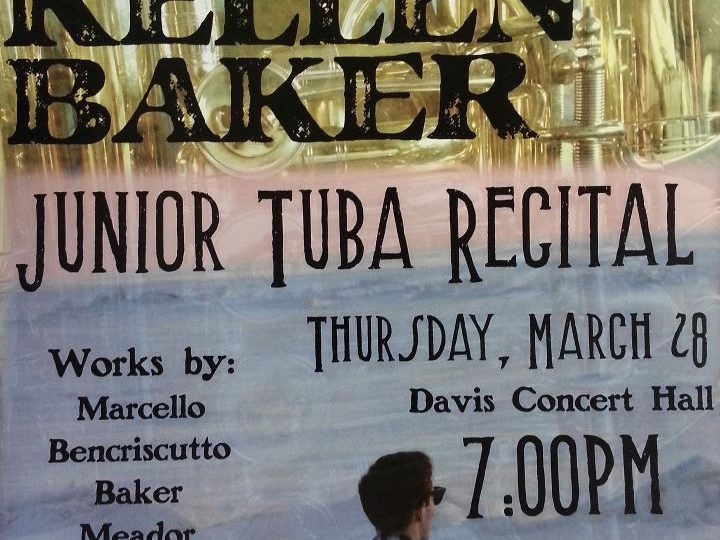 Kellen Baker's Junior Tuba Recital