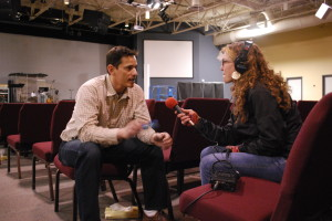 "Teri interviews the director of ""Jesus Christ: Superstar"", Brian Bennett"