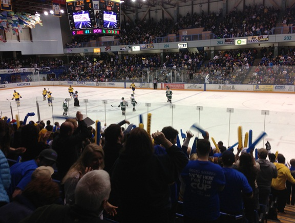 Alaska Nanooks rocked Carlson Center with the Gov Cup series first game win