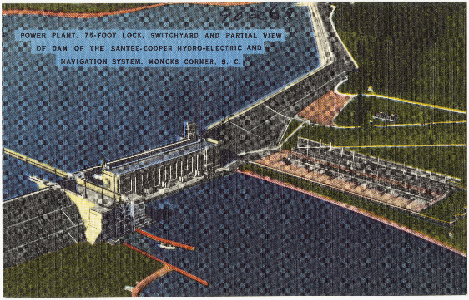 Santee (SC) United States  city images : ... from moncks corner south carolina proposed alaskan dam would be one of