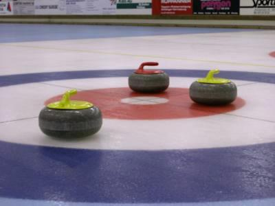 Superheroes on ice:  2013 International Curling Bonspiel