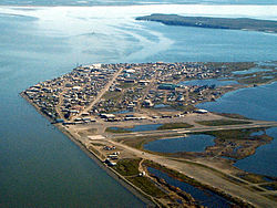 NASA began experimenting with wind turbines in Kotzebue in the early 2000s.