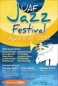 Jazz Fest Information Poster