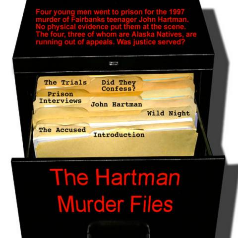 Hartman murder case logo