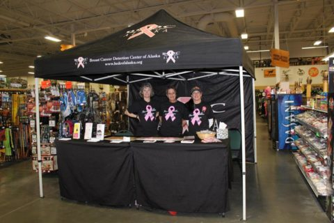 Breast Cancer Center benefit at Sportsman's Warehouse