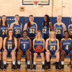 2013-2014 UAF Women's Basketball Team.  Brianna Kirk #13
