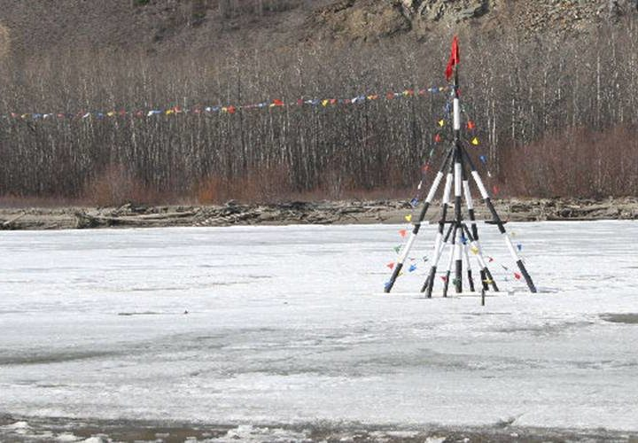 Place your bets: When will Nenana's ice go out?