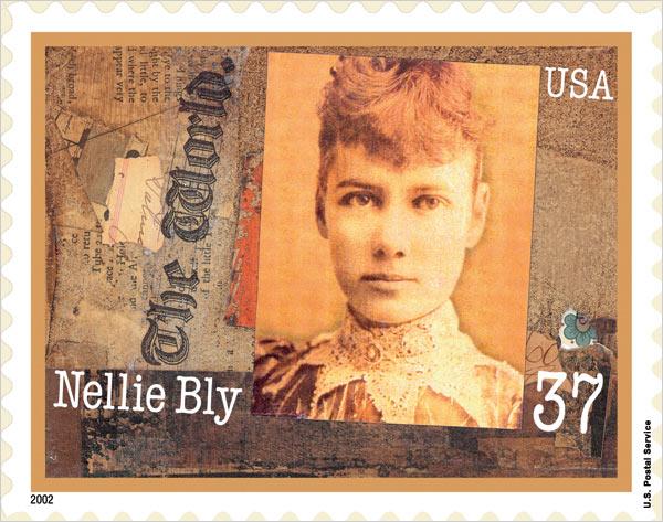 Nellie Bly postage stamp