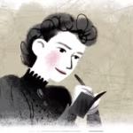 Pioneer investigative reporter Nellie Bly.