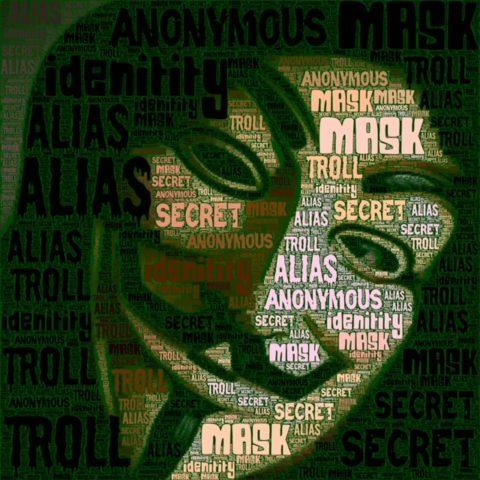 Masked Identity graphic