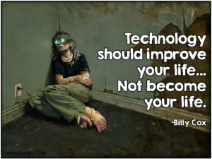 Technology advice meme quoting Billy Cox.