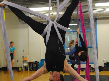 Aerial Arts brings new meaning to 'hanging out'