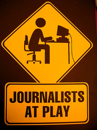 Depressing focus as young journalists face unstable future