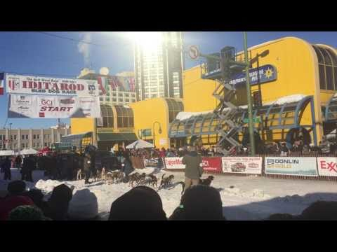 2017 Iditarod Ceremonial Start